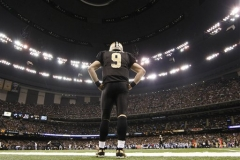Saints Brees Contract Football