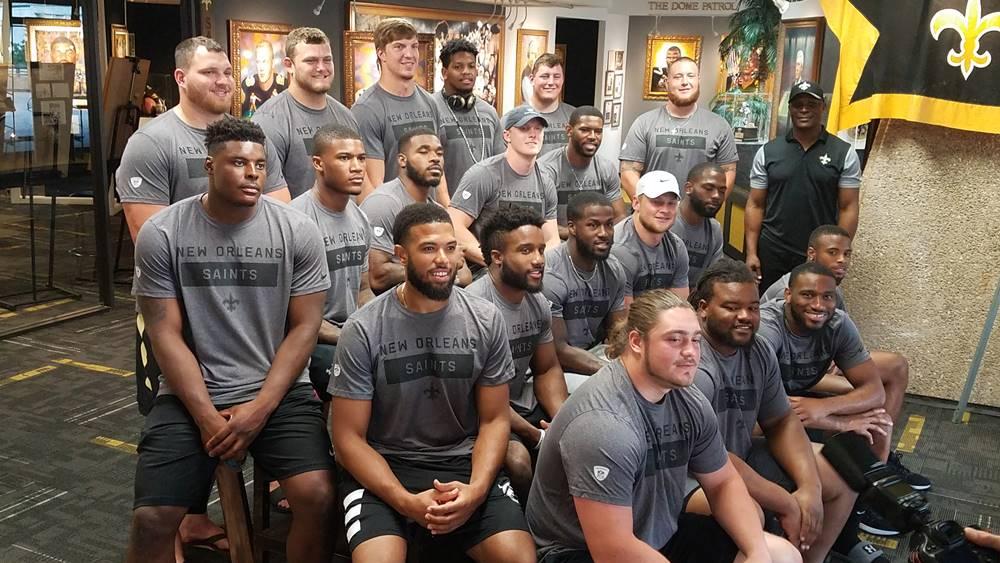 Saints rookies