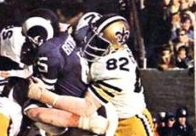 Bob_Pollard, 1972 Saints vs. Rams
