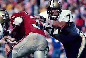 Derland Moore, Saints at Falcons
